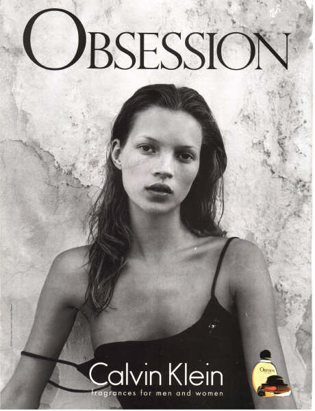 Sorrenti for Calvin Klein's Obsession.