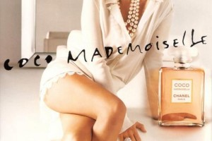 Chanel Coco Mademoiselle, foto Kate Moss